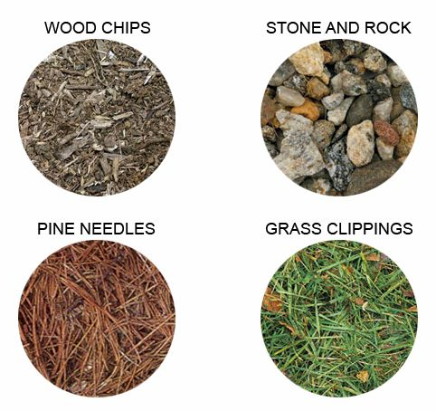 Types of mulch Hecker